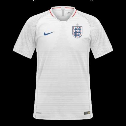 53289df37a GT Camisas  Camisas Inglaterra 2018   2019 - Home e Away