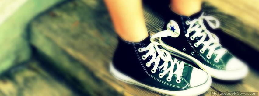Cool girl Shoes Facebook Cover