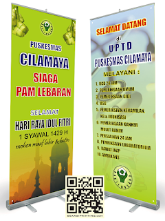 Roll up Banner 80 x 200 cm