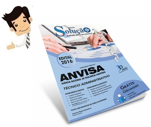 http://www.editorasolucao.com.br/apostila-anvisa-tecnico-administrativo?acc=eccbc87e4b5ce2fe28308fd9f2a7baf3