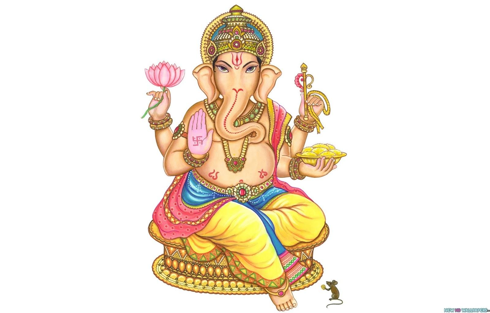 Cute Ganesh Hd Wallpaper Lord Ganesh Ji Images With Bhaktibhaav God Wallpaper