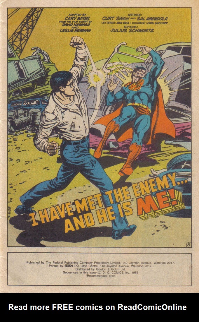 Read online Superman III comic -  Issue # Full - 3
