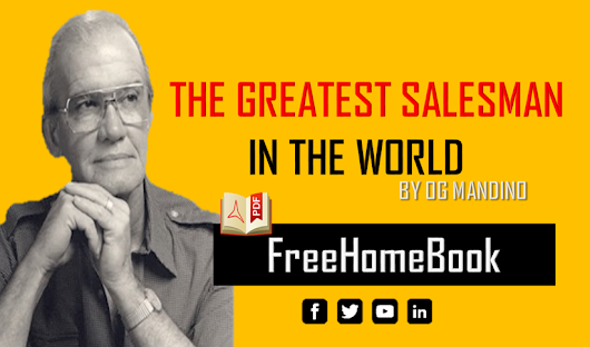 DOWNLOAD FREE THE GREATEST SALESMAN IN THE WORLD BY OG MANDINO