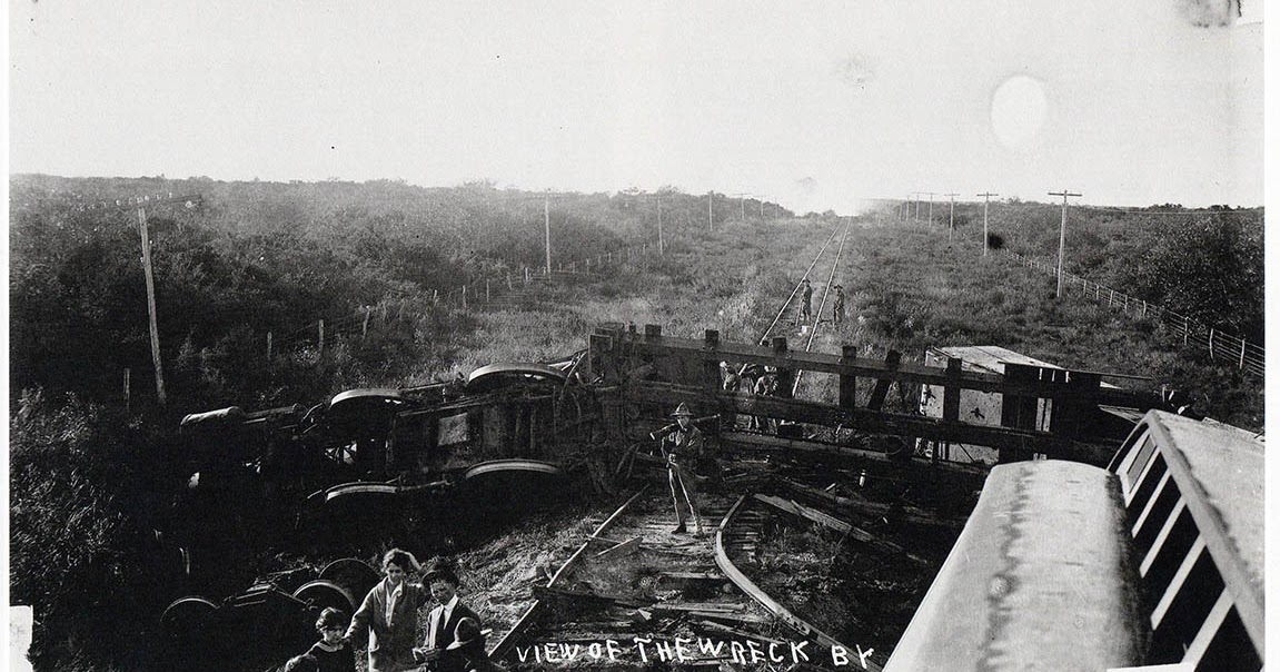 Brownsville Station 1915 Olmito Tandy Station Train Robbery
