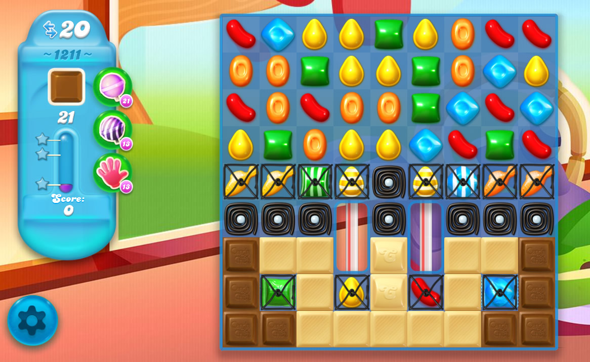 Candy Crush Soda Saga level 1211