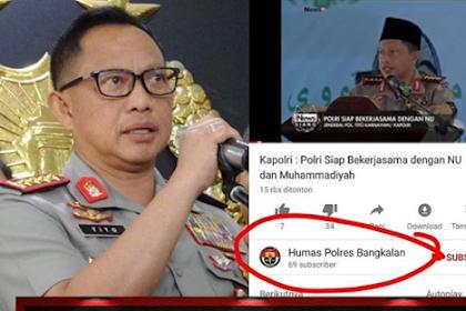 Kapolri Akan Mencari Tahu Penyebar Video Pernyatannya Soal Ormas Islam, Ternyata Yang Menyebarkan Adalah...