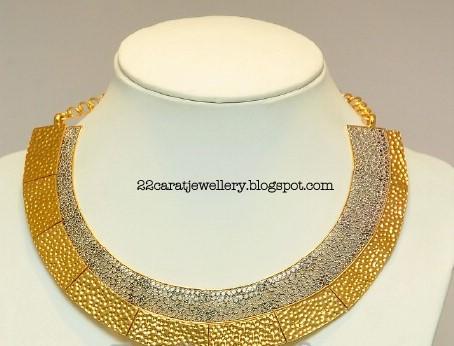 cfa1d984cc9a0 Designer Gold Necklace From Gitanjali Jewellers - Jewellery Designs