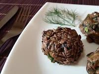 Chiftelute de ciuperci cu seminte de in