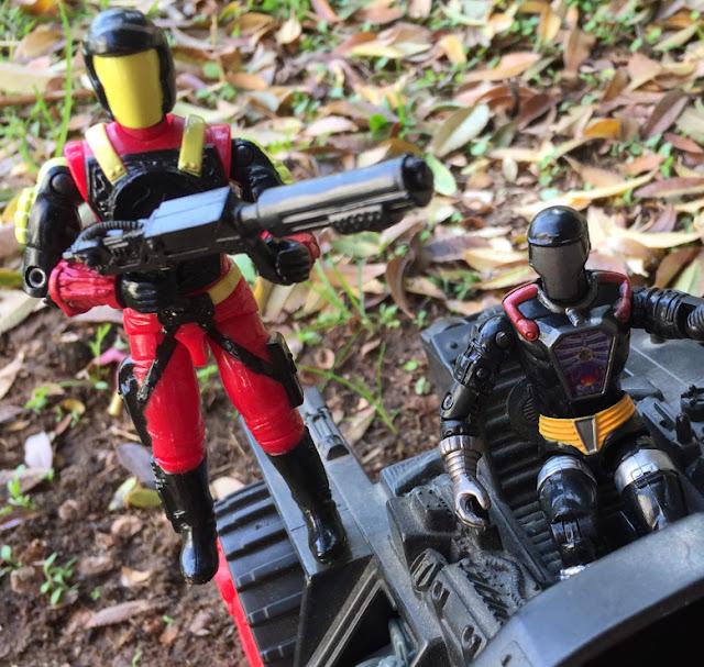 1993 Crimson Guard Commander, 1986 STUN, 1994 Metal Head, Flak Viper