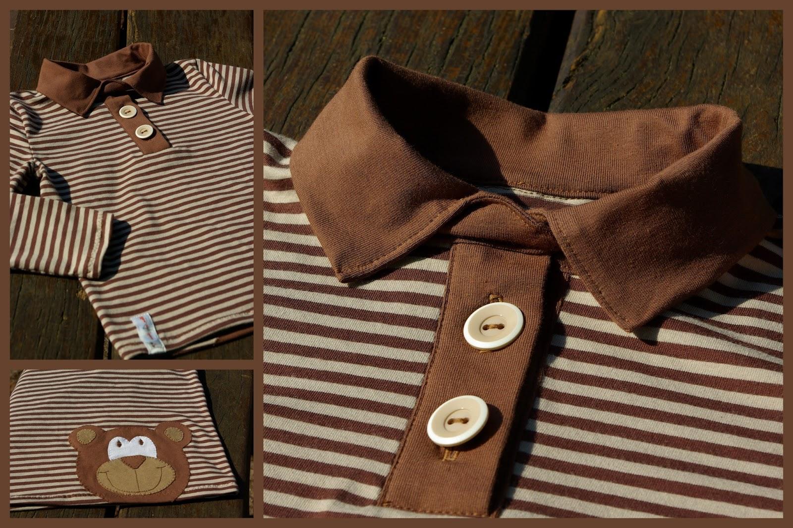 Made for Motti: Poloshirt von Heidimade.