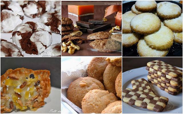 6 fantásticas galletas. Julia y sus recetas
