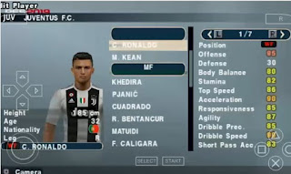PES 2019 ISO PPSSPP English Version V7 New Texture and save data