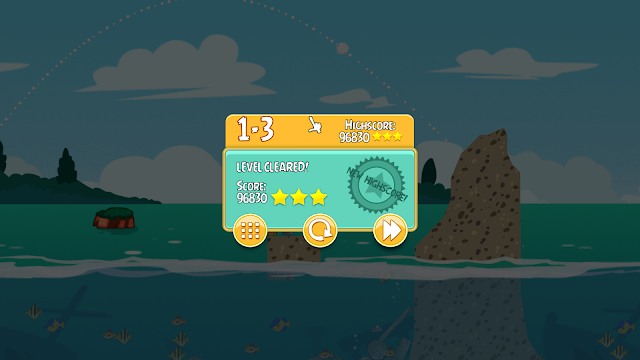 Angry Birds Seasons - Captura 3