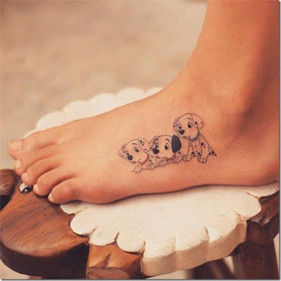One Hundred and One Dalmatians disney tattoos