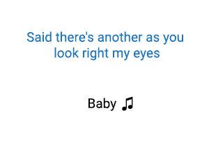 cantante Baby significado de la Justin Bieber Ludacris.