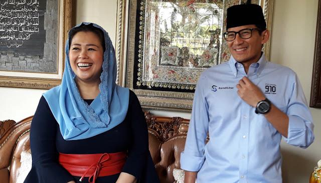 Yenny Wahid jadi Wakil Ketua Tim BPN Prabowo – Sandi