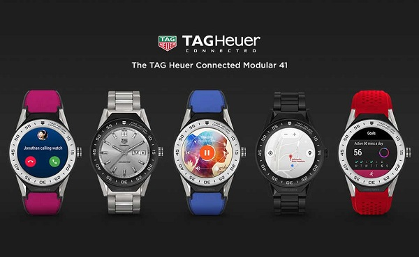 TAG Heuer Connected Modular 41 smartwatch launched with 1GB RAM and Android Wear
