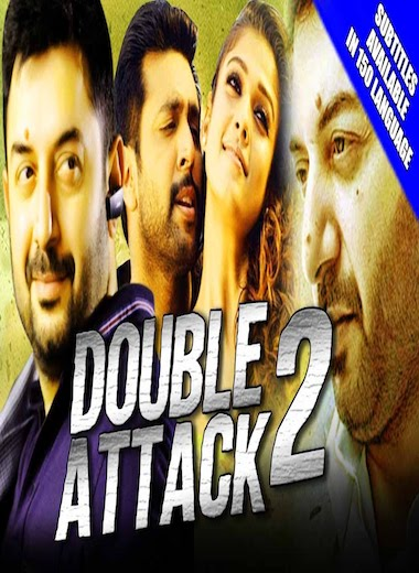 Double Attack 2 2017 HDRip 480p Hindi Dubbed 400MB