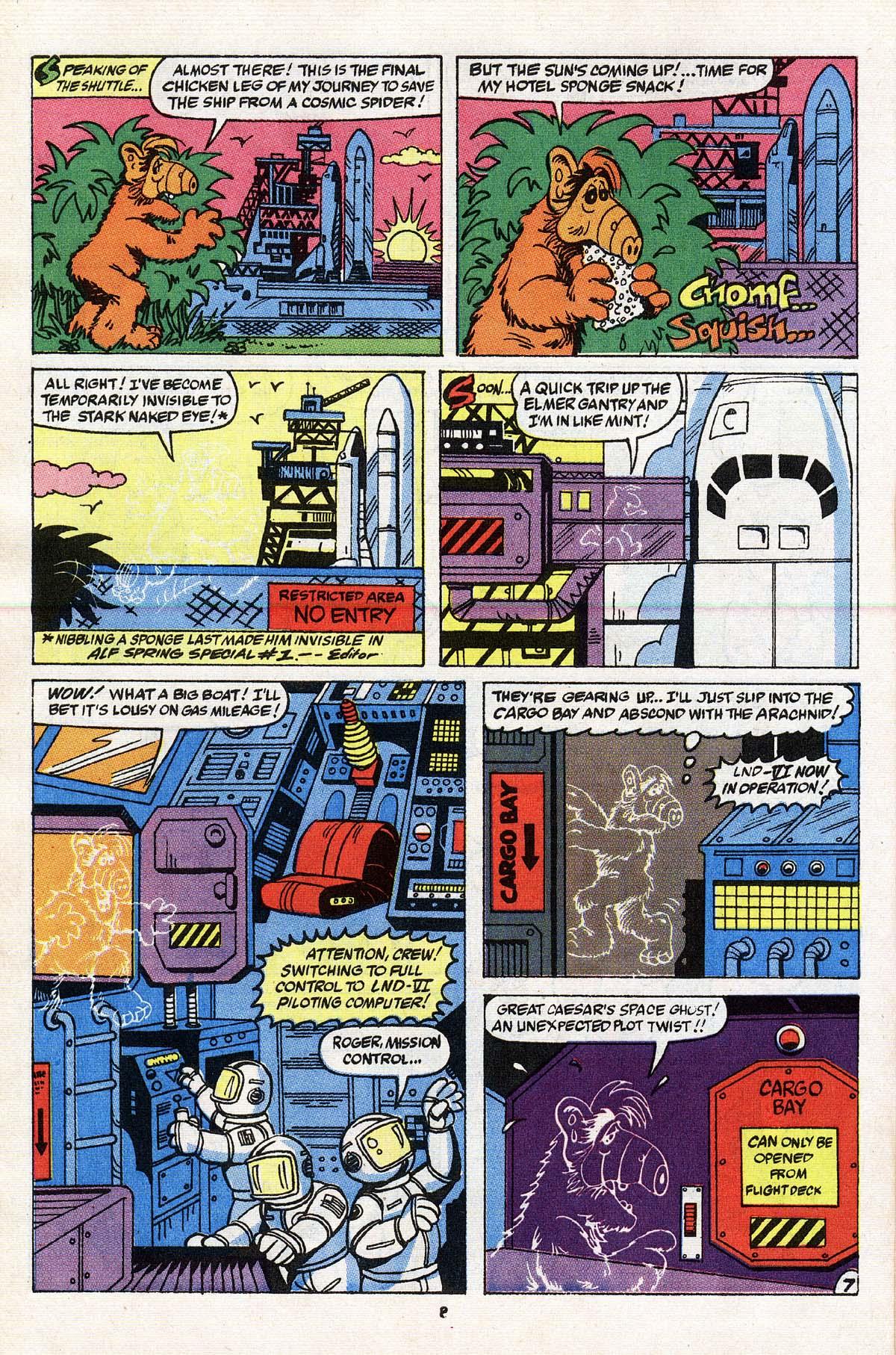 Read online ALF comic -  Issue # _Annual 3 - 8