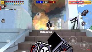 Game điện thoại PIXEL GUN 3D hack tiền item và level