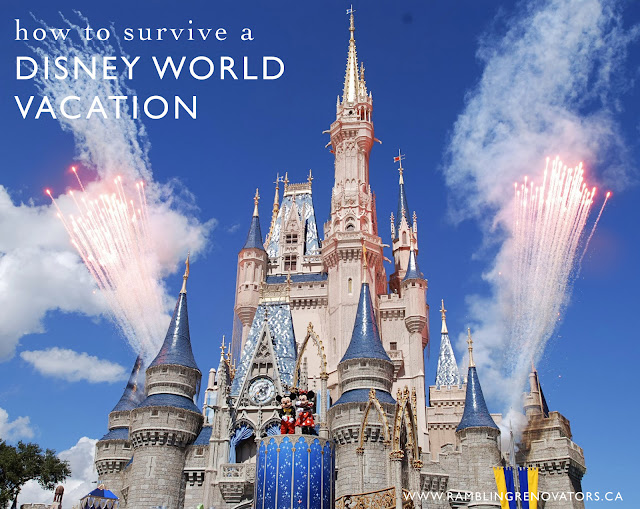 How to survive a Disney World vacation | Ramblingrenovators.ca