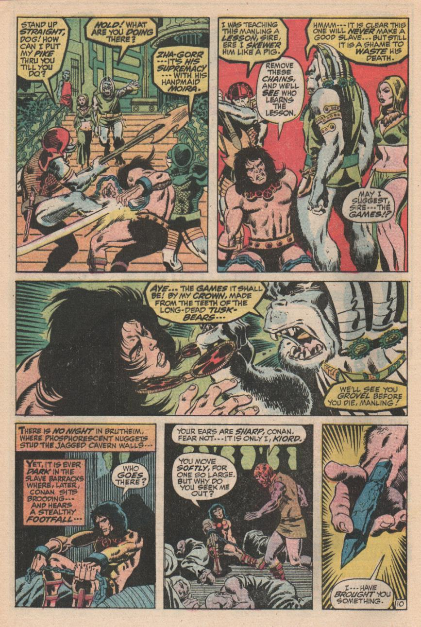 Conan the Barbarian (1970) Issue #2 #14 - English 11