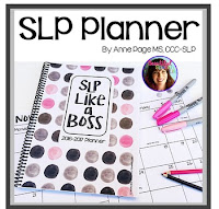 SLP Like a Boss Planner