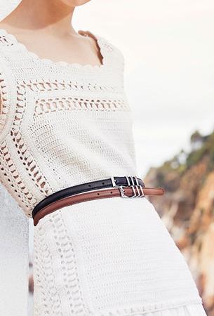 cinturones de mujer primavera verano 2016 Massimo Dutti