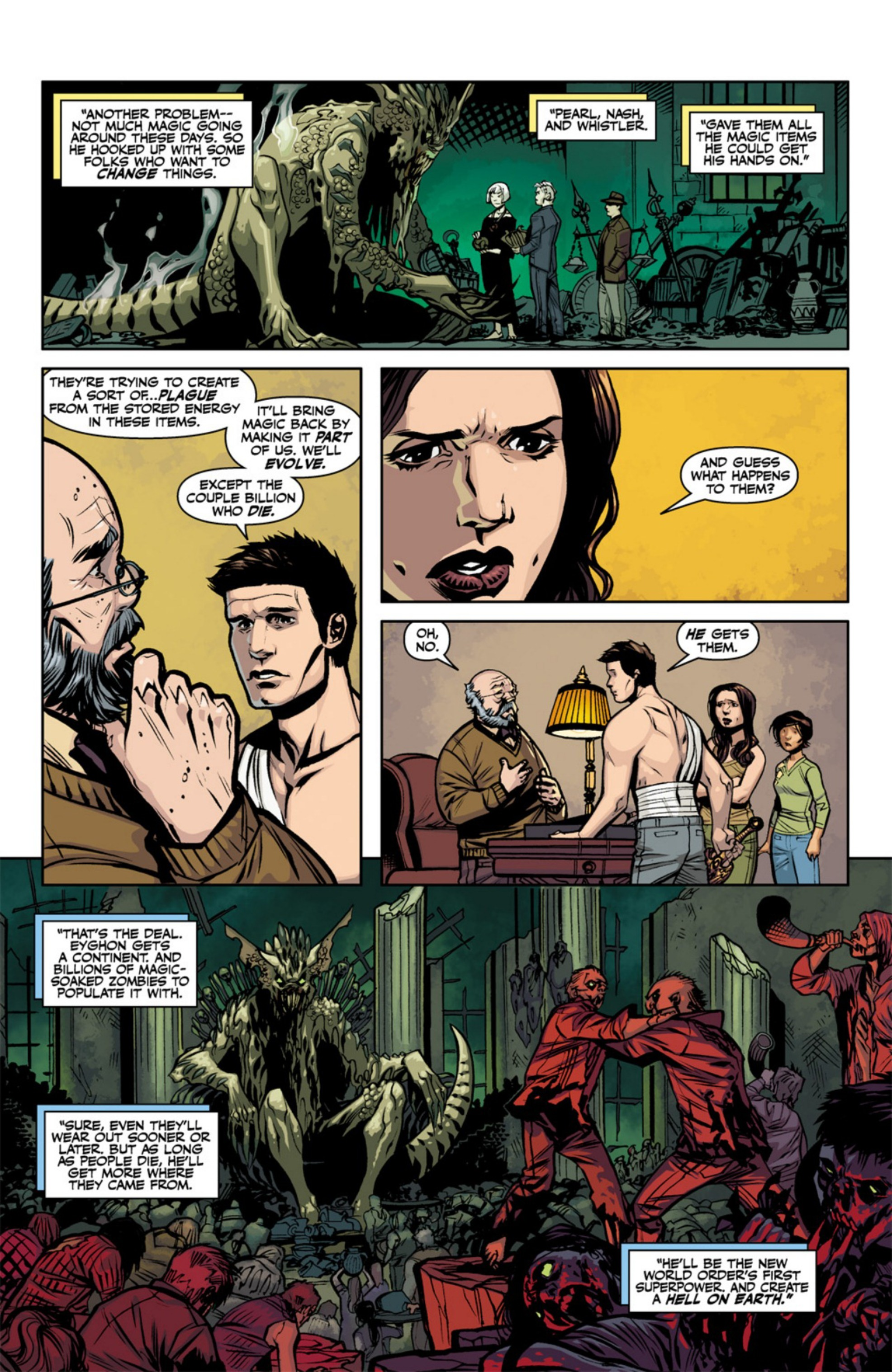 Read online Angel and Faith comic -  Issue #18 - 23