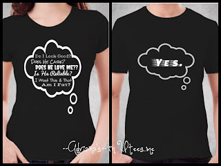 Personality Kaos Couple Tshirt