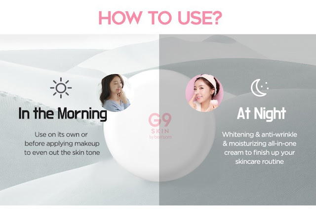 G9-SKIN-White-In-Whipping-Cream-Review-Korean-Whitening-Product-Skincare-miriammerrygoround