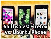Sailfish OS vs. Firefox OS vs. Ubuntu Phone