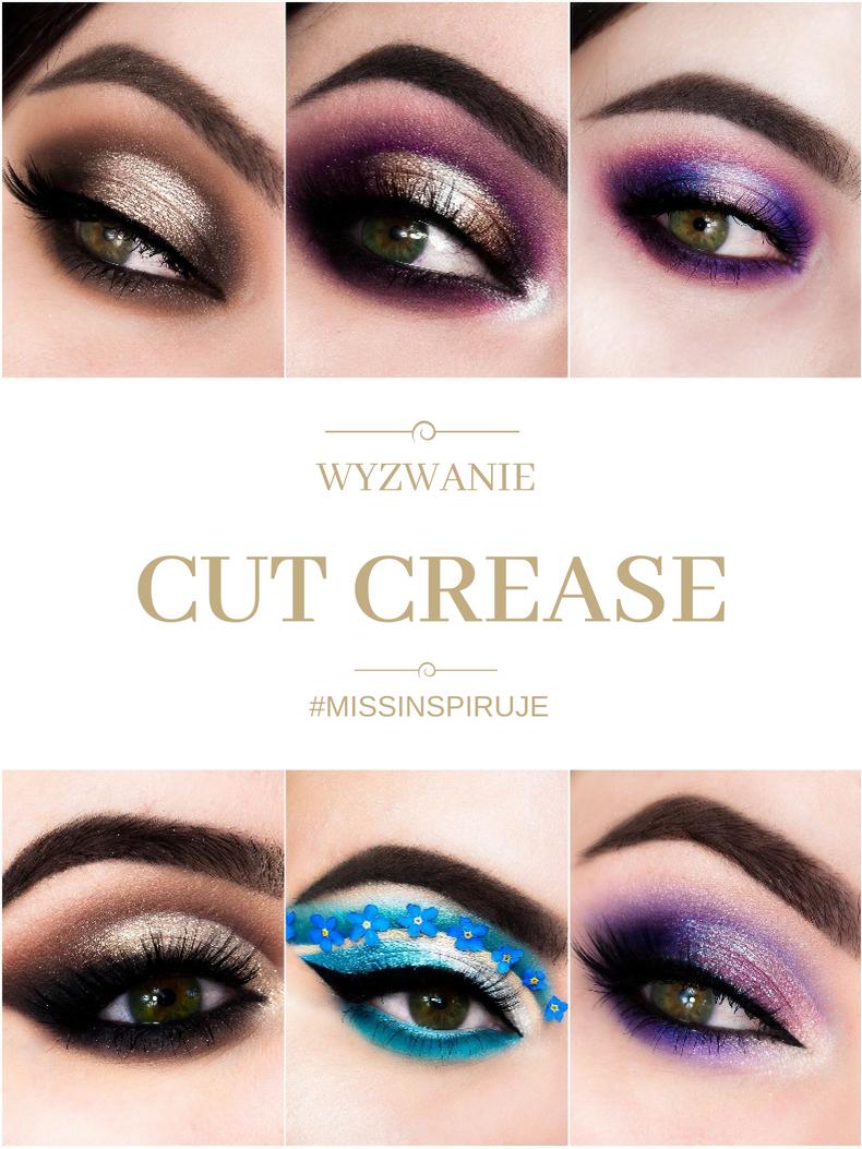 Wyzwanie makijażowe: Cut Crease + Podsumowanie wiosennego wyzwania