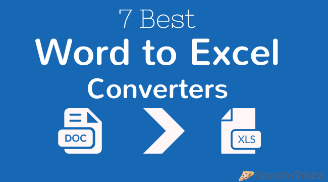 Word to Excel Converter