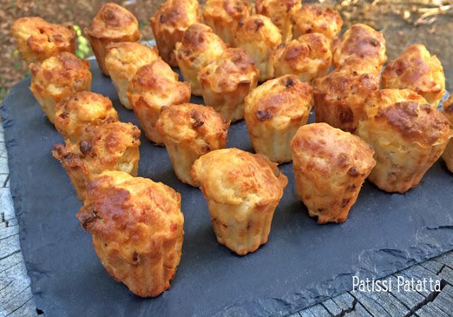recette de cannelés chorizo Etorki, cannelés salés, mini cannelés salés, cannelés pour l'apéritif, cannelés Basque, cannelés chorizo, cannelés Etorki, patissi-patatta,