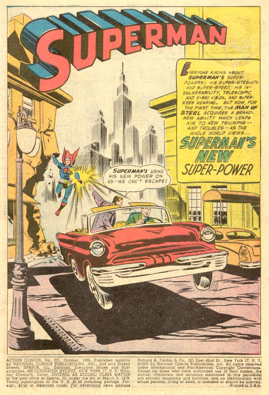 Action Comics (1938) 221 Page 2