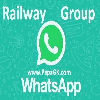 रेलवे के whatsapp ग्रुप