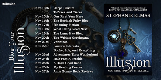 Illusion Book Tour | Blooming Fiction