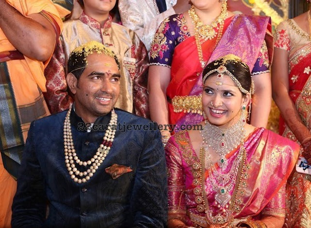 Director Krish Ramya Wedding