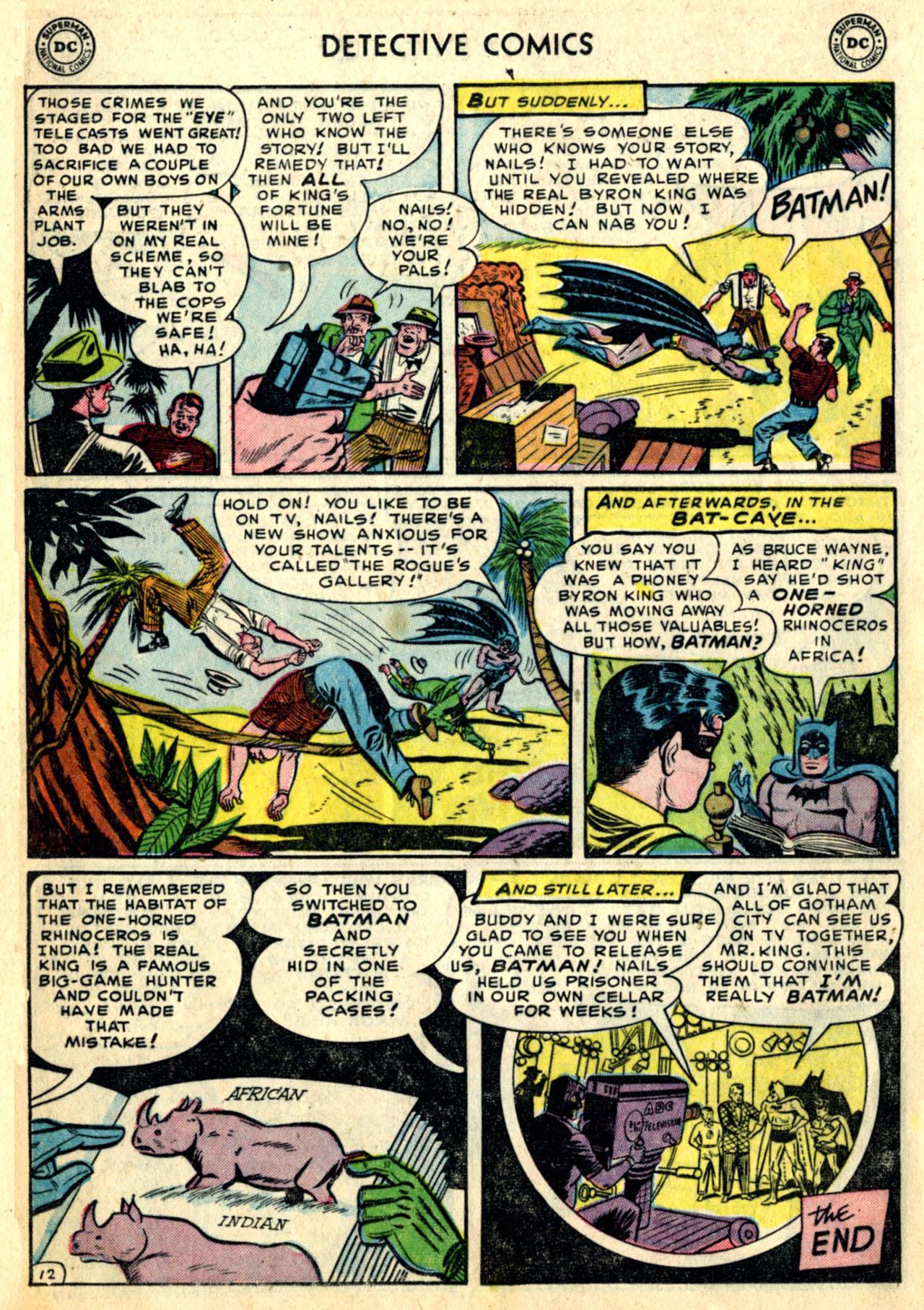 Detective Comics (1937) 192 Page 13