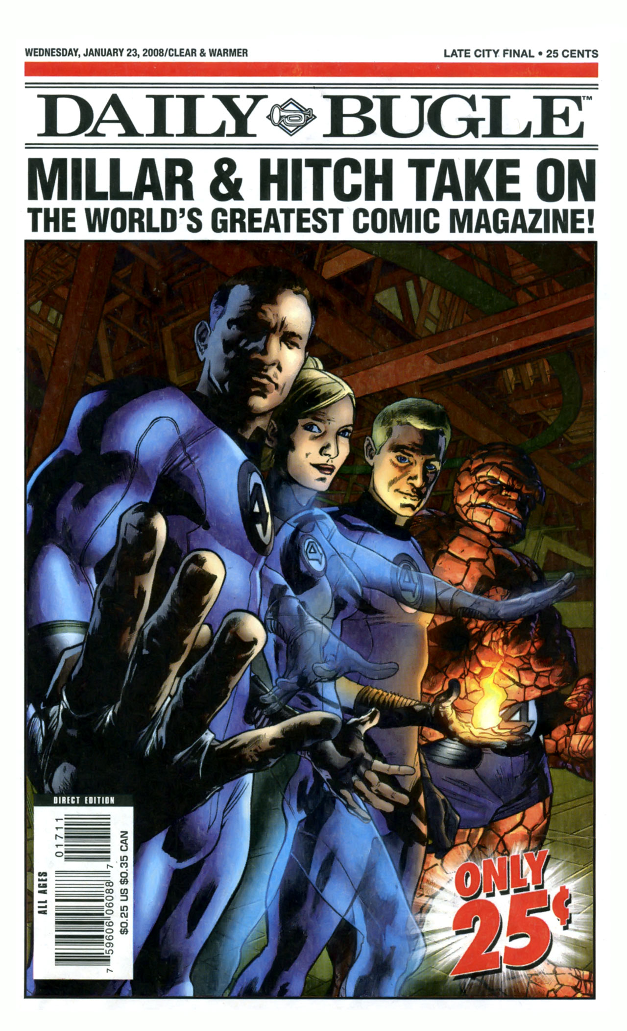 Read online Daily Bugle (2006) comic -  Issue #17 - 1