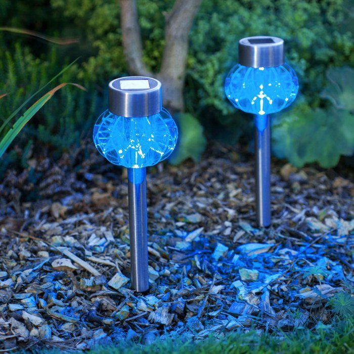 Ehrfürchtige solarlichter Für Den Garten