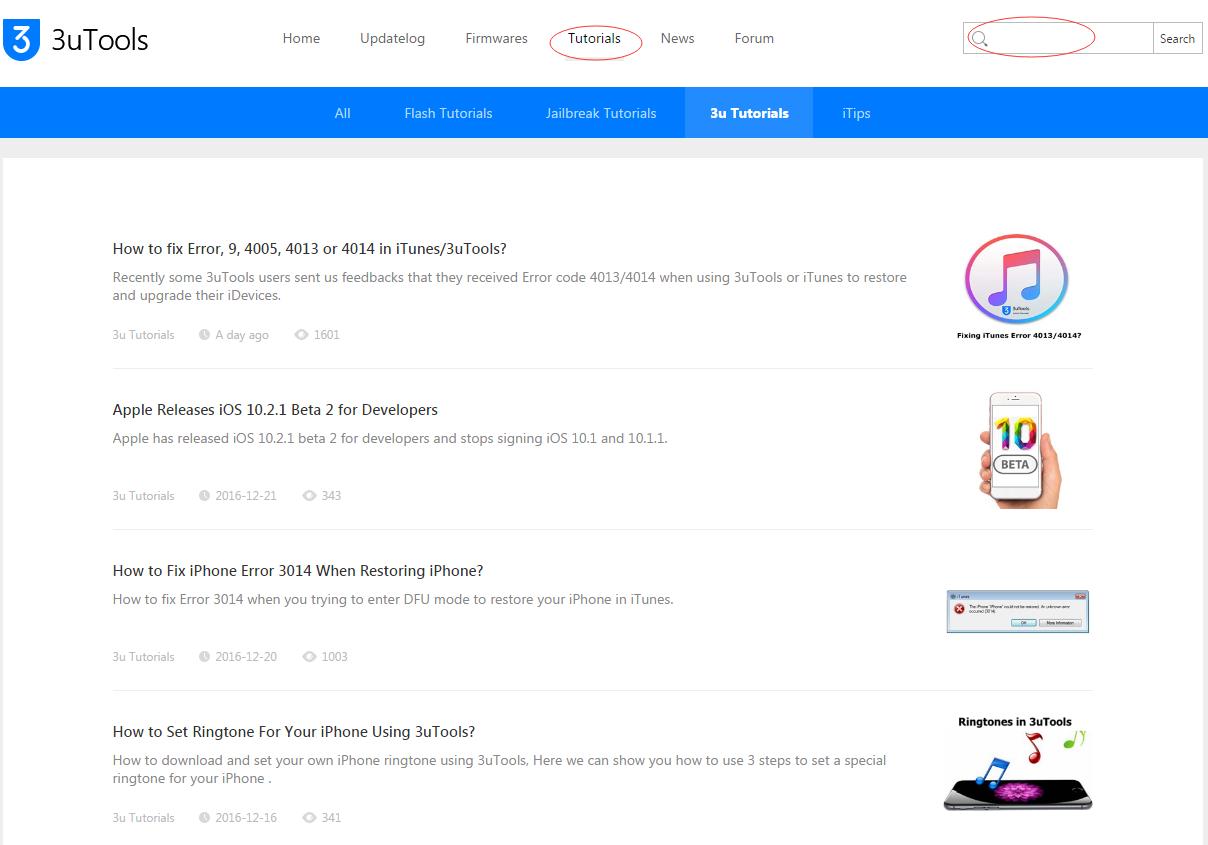 How to Fix Error -1 & Error 1 in iTunes/3uTools?