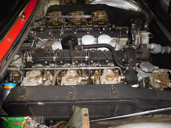 1976 Ferrari 365 GT4 2+2 V12 engine