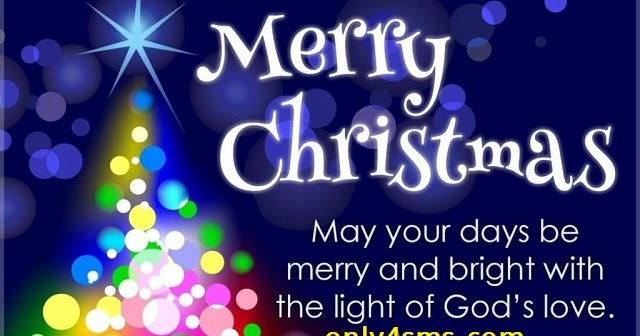 Happy Merry Christmas Day Sms Wishes Quotes | Any SMS