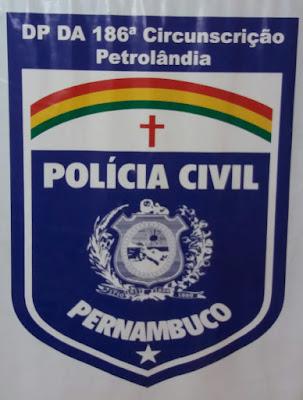 Resultado de imagem para delegacia de polícia civil petrolândia + assis ramalho