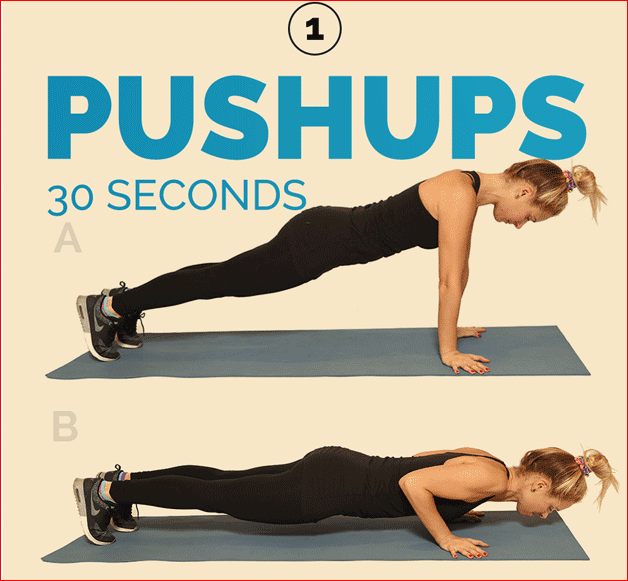 Pushup 30 Seconds