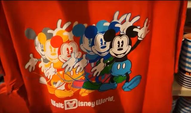 Ink & Paint Walt Disney World red T-shirt