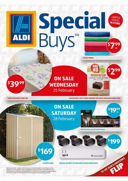 Get the product of your needs through ALDI weekly deals