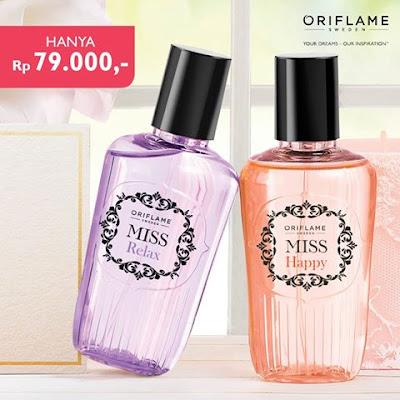 Miss Relax Fragrance Mist 31634 dan Miss Happy Fragrance Mist 31635